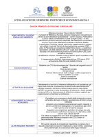 scuola di scienze giuridiche, politiche ed economico