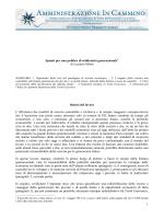 1 Spunti per una politica di solidarietà generazionale di Luciano