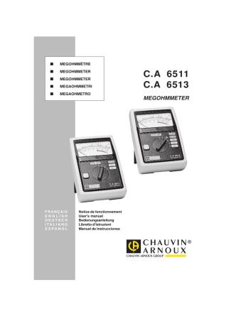 C.A 6511 C.A 6513