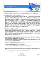 EcoBiologia Marina 2