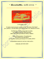 22-28 giugno 2015 Il raduno internazionale organizzato dal