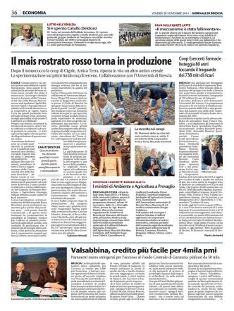 Banca Valsabbina, credito più facile per 4mila PMI
