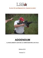 addendum - al regolamento lssa per le competizioni rifle in italia