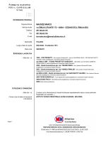 MAURIZZI MARCO VIA EMILIA LEVANTE 172 – 40064 – OZZANO