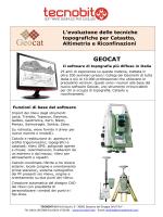 Nuovo Geocat 4.14 - Tecnobit guide software