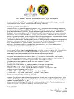 Il regolamento di partecipazione ai CNU del CUS Pavia