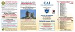 Programma Attività Sezionale 2014
