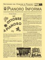 Anno 2014 n. 4 - Comune di Pianoro