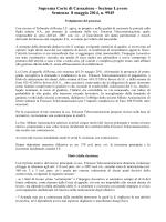 Sentenza Cassazione Lavoro n 9945 del 8 5 2014 eccessivi carichi