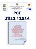 Visiona il POF 2013-2014 - Castellammare del Golfo