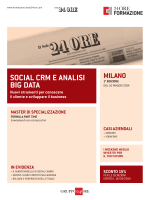 SOCIAL CRM E ANALISI BIG DATA - Shopping24