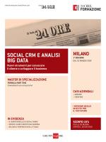 SOCIAL CRM E ANALISI BIG DATA - Shopping24
