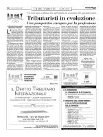 Italia Oggi del 09/10/2014 - Associazione Nazionale Consulenti