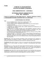 Determina Servizio Amministrativo n°65/2014