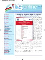 AICS ON LINE N° 349 del 10/04/2014