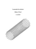 I nanotubi di carbonio Matteo Tironi 5 A ECO