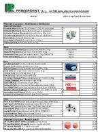 Materiale di consumo – Modellazione e riproduzione