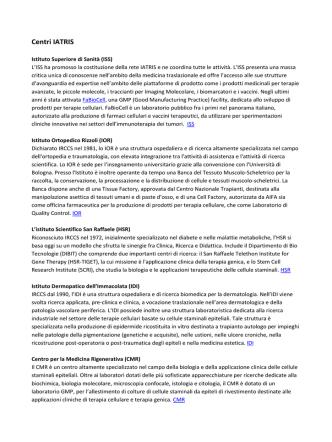 Centri IATRIS 2014 [PDF - 404.85 kbytes]