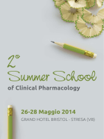 Summer School of Clinical Pharmacology