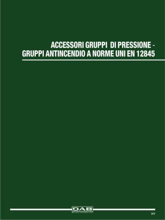 accessori gruppi di pressione