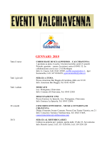 Download calendario eventi PDF