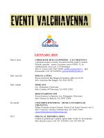 Download calendario eventi PDF