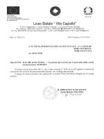 """CIRCOLARE PENSIONI 01.09.2015 - """"Vito Capialbi"""" Vibo Valentia"""
