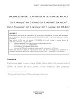 EPIDEMIOLOGIA DEL CONTENZIOSO E GESTIONE