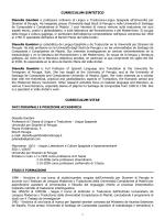 Gambini Dianella - Università per Stranieri di Perugia