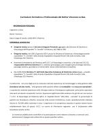 Dott. Lo Bue Vincenzo - Azienda Ospedaliera Ospedali Riuniti Villa