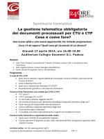 Programma - Collegio dei Geometri della provincia di Padova