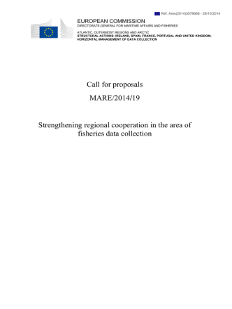 Call for proposals - European Commission