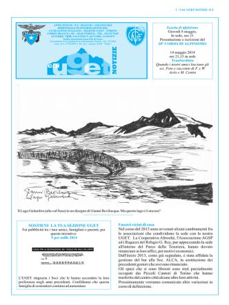 Cai Uget Notizie 3-2014