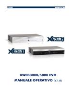 xweb3000/5000 evo manuale operativo (v.1.0)