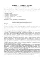 ASSEMBLEA GENERALE DEI SOCI