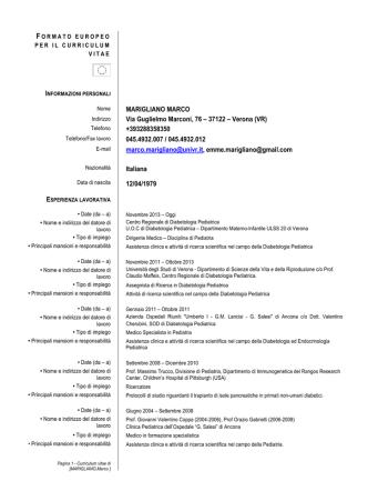CV Marco Marigliano Ita (pdf, it, 260 KB, 7/8/14)