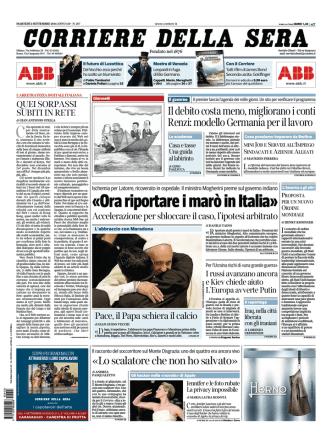 Corriere della sera - 02.09.2014