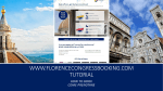 download booking tips - Florence Congress Booking