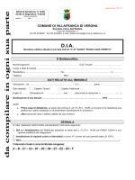 domanda_DIA 2014_piano casa - Comune di VILLAFRANCA DI