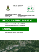 Nuovo Regolamento edilizio comunale approvato