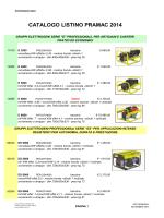 PRAMAC.generatori 2014 - rappresentanze