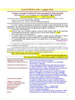 news 496 - 1 giugno 2014