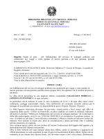 bando NOLEGGIO PULLMAN - Direzione Didattica V Circolo Perugia