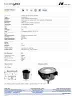 SCHEDA TECNICA Codice A7 Incasso LED da esterno carrabile In