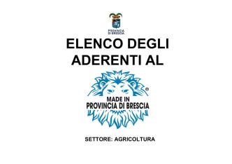 azienda agricola la fioca - Made In Provincia di Brescia