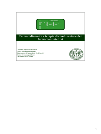 Antibiotici - Servizio di informazione sul farmaco