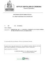 """Vedi Allegato - Esito - """"Istituti Ospitalieri"""" di Cremona"""