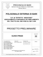 H - ELENCO PREZZI - Provincia di Bari