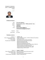Emanuele Faccilongo - Università degli Studi di Foggia