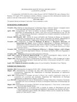 DICHIARAZIONI SOSTITUTIVE DI CERTIFICAZIONI ( art.46 D.P.R. n